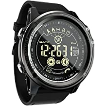 Sports Digital Smart Watch - LOKMAT Men Boys Waterproof Bluetooth Smart Wrist Watch, Smartwatch with Walking Calories,Remote Camera, Call/SNS/SMS Reminder for iOS and Android Smartphone