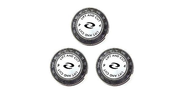 Philips cabezales de recambio doble cuchillas x3 HQ6868, hq6879, HQ6940 nuevo Reino Unido: Amazon.es: Salud y cuidado personal