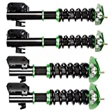 SCITOO Suspension Strut Coilover Complete Assembly Kit for Saab 9-2X 2005