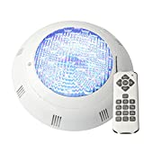 Aliyeah AC 12V 35W 441 leds RGB Color Changing Swimming Pool Light for Inground Pool, Wall Mounted with 7ft Power Cord, Waterproof IP68 (EXPRESS Shipping)