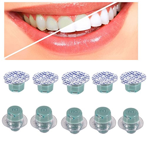 (Teeth Whitening Paste, Dental Teeth Whitening Polishing Flavors Paste Cup Whitener Tooth Treatments (Green and Pink))