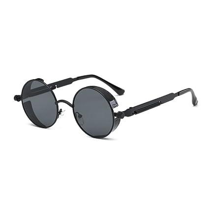 Babysbreath Hombres de Las Mujeres Steampunk Gafas de Sol de Metal Marco de Gafas UV400 Eyewear