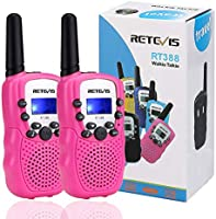 Retevis RT388 Walkie Talkies for Kids, Toys for 3-12 Year Old Boys and Girls, Flashlight VOX 8 Channels , Birthday Gift...