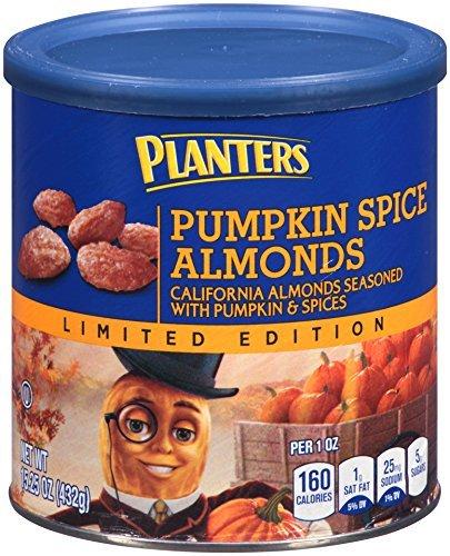 Planter's Pumpkin Spice Almonds, 15.25 Ounce (Pack of 2)