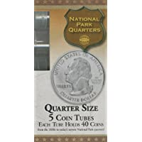 Quarter Size 5 Coin Tubes