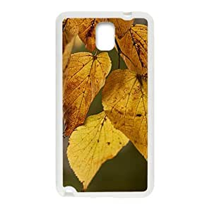 Autumn Leaves White Phone Case for Samsung Galaxy Note3