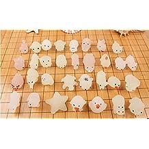 Boddenly Squishies Cute Discoloration Mochi Squishy Squeeze Healing Fun Kids Kawaii Toy Stress Reliever Decor
