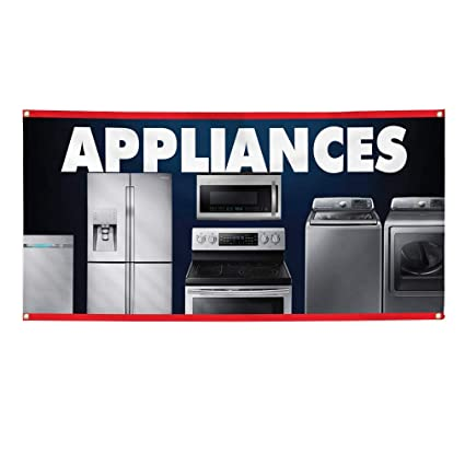 Amazon Com Vinyl Banner Sign Appliances Business Business