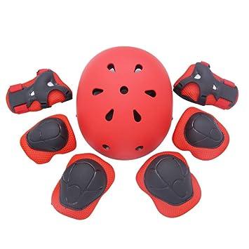 1-1 ABS Anti-Caída Sports Cascos,Niños Proteccion Infantil para Niñas Y