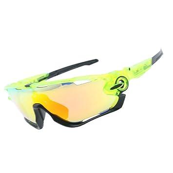 Xuanbao Gafas de Sol Unisex Ciclismo Gafas Cuatro Juegos de ...