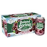 Poland Spring Sparkling Water, Black Cherry, 12 oz. Cans (Pack of 8)