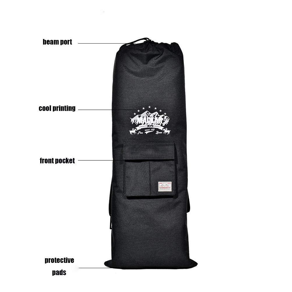 faa96f62b7 Maxfind LongBoard Skateboard Hover Board Bag Carry Bag Handy Backpack  Handbag larger image