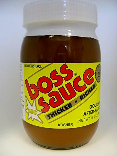Boss Sauce Mild After-sauce Gourmet 16 Oz (Pack of 6)