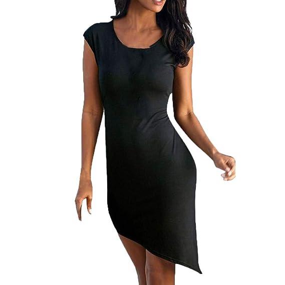 40763185b3ee Vestidos Verano Mujer Vestido De ImpresióN con Cuello En V Casual ...