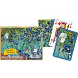 Piatnik Playing Cards - Van Gogh - Iris, Double Deck