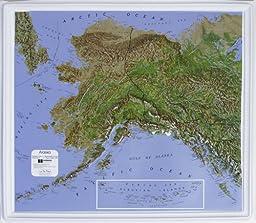 American Education Raised Relief Map: Alaska NCR Series
