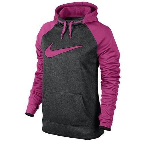 Felpa Da Allenamento Termica Nike Felpa Nera / Rosa Intenso