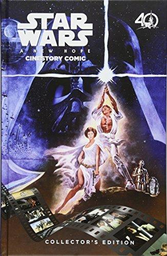 Star Wars: A New Hope Cinestory Comic: 40th Anniversary Collector's Edition (Star Wars A New Hope Special Edition Comic)