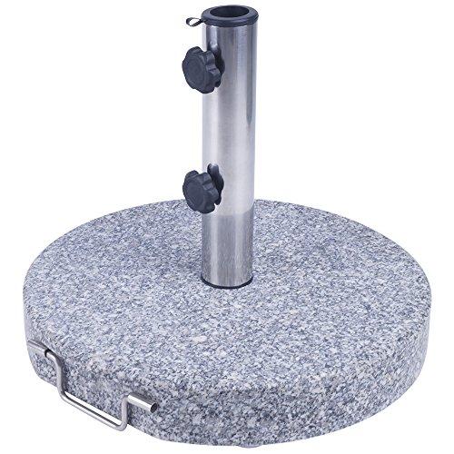 Sonnenschirmstnder-Granit-45-cm-rund-30-kg-Schirmstnder