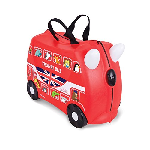 Trunki: The Original Ride-On Suitcase NEW, Boris The London Bus (Red) by Trunki (Image #5)