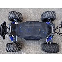 For 1/5 6S RC Car 77076-4 & 8S Truck Chassis Dirt Dust Resist Guard Cover -1SET Black