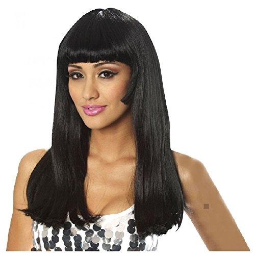 Cher Fancy Dress Costumes - 60s Wig Adult Cher Costume Halloween Fancy Dress