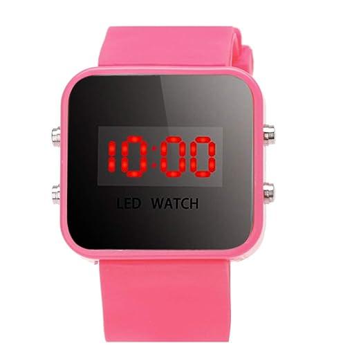 BEIBEILE Relojes para Niños Led Niños Reloj Niños Niñas Moda Relojes Digitales De Silicona Niños Casual Sport Reloj Saat Relojes: Amazon.es: Relojes