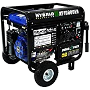 DuroMax 10000 Watt Hybrid Dual Fuel Portable Gas Propane Generator