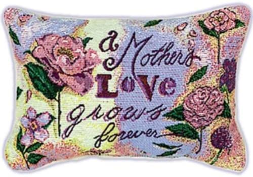 Manual 12.5 x 8.5-Inch Decorative Throw Pillow, Mother s Love Grows