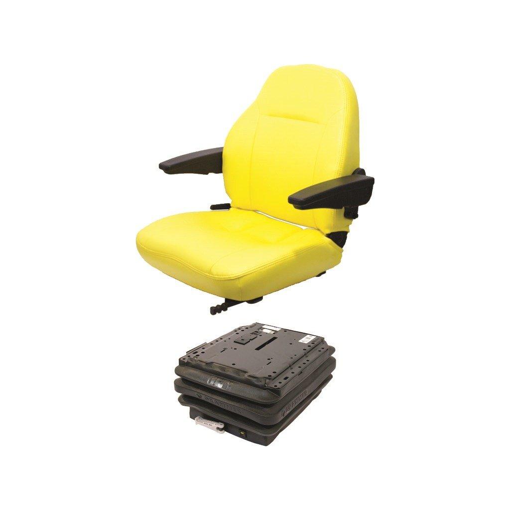 K&M 039-6852 JD 7000 Series Open Station KM 441 UNI Pro Seat & Mechanical Suspension