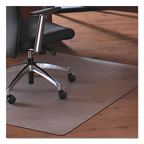 Cleartex Megamat Chairmat - Home, Workstation, Hard Floor, Carpet - 60quot; Length x 46quot; Width - Polycarbonate - Clear by Cleartex