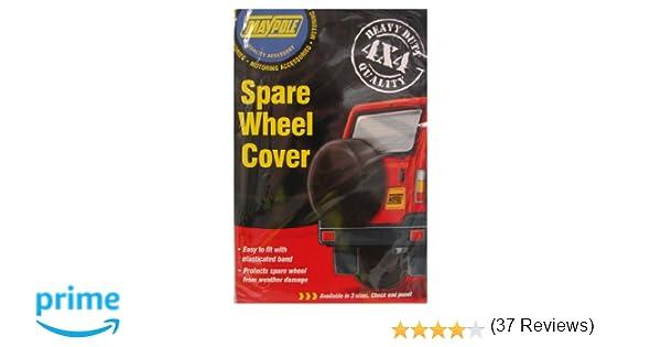 Maypole 94428 - Funda para rueda de repuesto para 4x4 (28