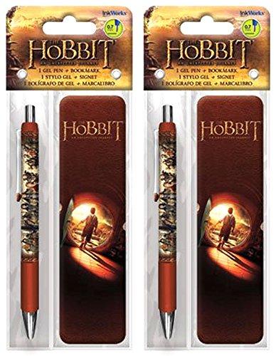 The Hobbit Gel Pen and Bookmark Set - (2 Pack) -