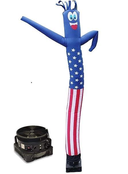 Amazon.com: Bandera estadounidense de tubo hinchable para ...