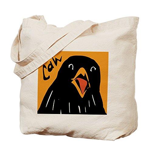 CafePress–cuervo alerta–Gamuza de bolsa de lona bolsa, bolsa de la compra