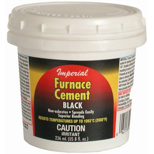 UNITED STATES HDW MFG/U S HA KK0077-A 8OZ BLK Furnace Cement