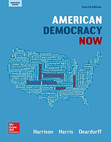 (Harrison, American Democracy Now, Reinforced Binding (AP AMERICAN DEMOCRACY (US GOVERNMENT)) )