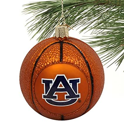 NCAA Auburn Tigers Glass Basketball Ornament - Amazon.com : NCAA Auburn Tigers Glass Basketball Ornament : Ornament
