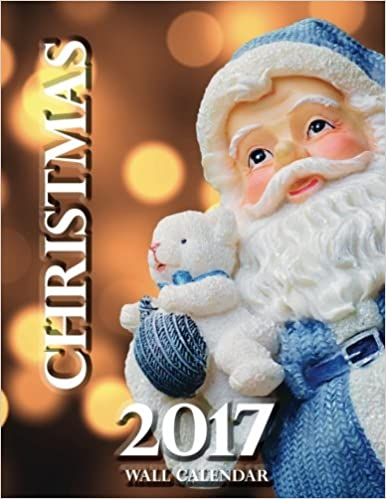 Book Christmas 2017 Wall Calendar
