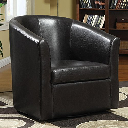 Coaster Contemporary Dark Brown Accent Chair