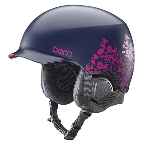 Bern Muse - BERN Women's Muse Helmet - S/M Adult - Satin Navy GEO