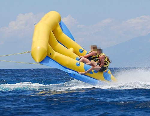 Holleyweb™ Inflatable Flying Fish Inflatable Boat for Promotion Hard-wearing Quality (Flying Fish Boat)