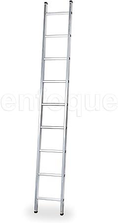 ALTIPESA Escalera Profesional de Aluminio de Apoyo Simple 9 peldaños Serie Basic: Amazon.es: Hogar