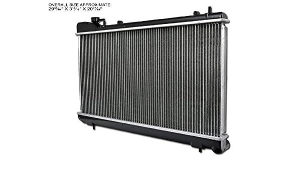 Amazon.com: AutobotUSA Aluminum Radiator 06-08 For Subaru Forester 2.5L H4 Gas Dohc Turbocharged Engine: Automotive