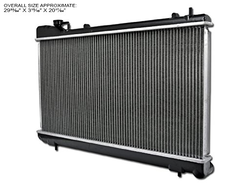 - S&T Racing Aluminum Radiator 06-08 For Subaru Forester 2.5L H4 Gas Dohc Turbocharged Engine