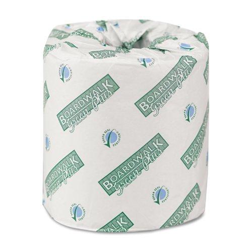 Boardwalk 24GREEN Green Plus Bathroom Tissue, 2-Ply, White (Case of 80)