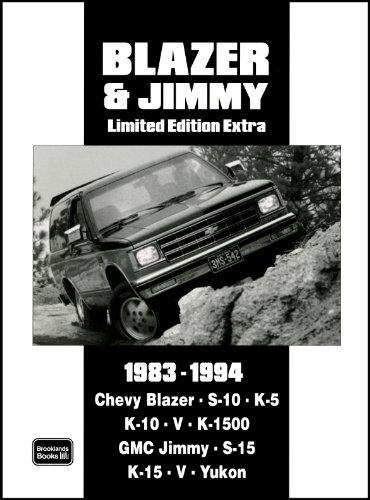 Chevy Blazer & Jimmy Limited Edition Extra - Chevy R/v Truck 1500