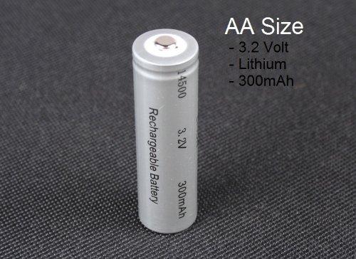Britta Products Luminous Glow Solar Lights Replacement Li-Ion Battery Kit 14500 Battery ()
