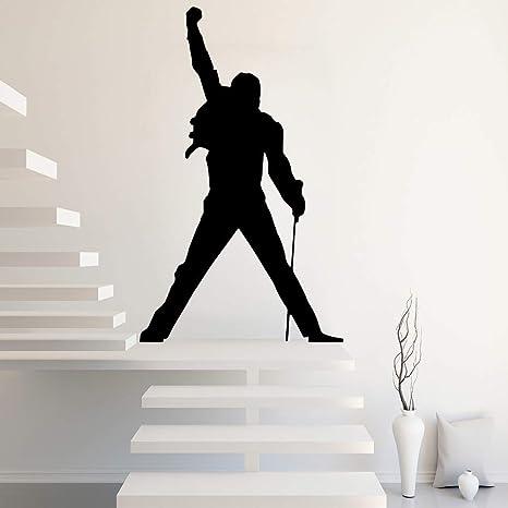 90x147cm Tamaño Grande Freddie Mercury Queen Banda Rock