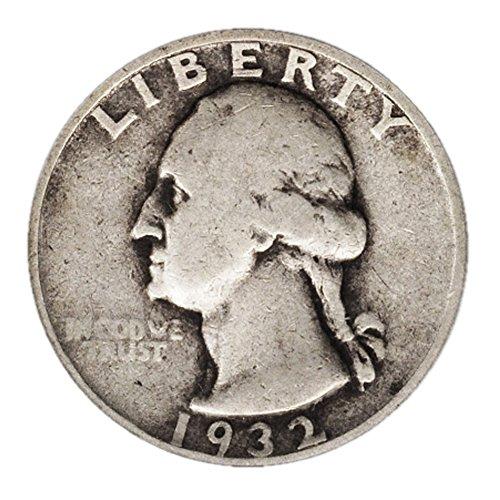 Washington Quarter Silver Coin (90% Silver Washington Quarter .25c Face Quarter Fine)